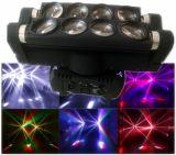 luz del acontecimiento del efecto de la viga de la araña del patio LED de 8X10W RGBW