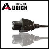 Link-Netzanschlusskabel-Stecker des Amerikaner-drei