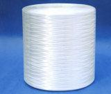 編むことのために粗紡糸にするEガラスのガラス繊維