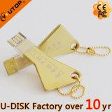 Vara feita sob encomenda quente da memória do USB da forma da chave do logotipo (YT-3213-04)