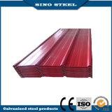 Feuille en acier ondulée de toiture de constructeur professionnel de la Chine