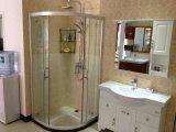vidro temperado desobstruído de 10mm usado no quarto de chuveiro