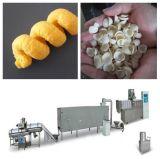 Generi differenti di spuntino del soffio del cereale che fa macchina