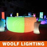 Illuminare in su il contatore della barra rotonda/il partito Furniture& della barra per la Tabella della barra del LED