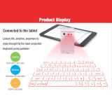 2015 heißer New Products Bluetooth Laser Virtual Keyboard mit Rechagable Power Bank