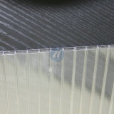 Wall triplo Hollow Polycarbonate Sheet com GV Approval