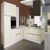Cabina de cocina moderna modular de la melamina