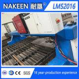 Tipo cortador do pórtico do gás do plasma do CNC para a folha de metal