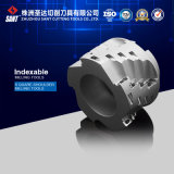 Desgaste - Indexable resistente Milling Cutter, Square Shoulder Milling Tool, CNC Milling Cutter, Indexable Milling Tool