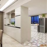Keukenkast Van uitstekende kwaliteit van pvc van Oppein de Moderne Modulaire Houten (OP15-PVC05)