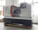 편평한 Bed Lathe 220V, Lathe Tool, Metal Lathe Machine