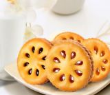 La Cina ha personalizzato la macchina di riempimento crema poco costosa di fabbricazione di biscotti