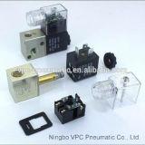 NPT 1/8 3/2 di elettrovalvola a solenoide elettrica pneumatica di modo 3V1-06