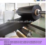 Folha rígida preta do PVC de Formable do vácuo para a torre refrigerando