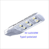 150W Ce UL RoHS Bridgelux LED Street Light van Manufacturer (Polarized)