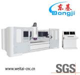 水平の3-Axis CNCのガラス端の粉砕機