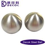RoHS lle sfere d'acciaio da 0.35 - 200 millimetri 51mm hanno spazzolato la sfera guardata fisso giardino dell'acciaio inossidabile della decorazione