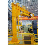 A3~A5 작동 의무 5 톤 드는 호이스트 지브 기중기