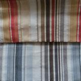 Tela tejida silla teñida hilado del sofá de la materia textil del hogar del poliester de la tapicería