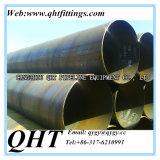 Tubo de acero soldado SSAW del espiral del diámetro grande del API 5L