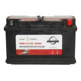 AGM-L4 батарея автомобиля 12V AGM высокого качества SLA безуходная 80ah