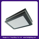 Lâmpada impermeável do retângulo da montagem de alumínio do escudo & da instalação ou do teto da parede