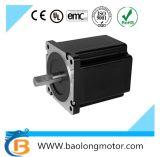 Motor eléctrico del escalonamiento de pasos híbrido bifásico del motor de NEMA34 0.9deg