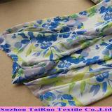 Tissu Chiffon en soie de Georgette de tissu d'impression de polyester