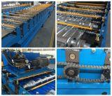 828 голубой рифлёный тип стальная машина листа металла плитки формируя