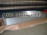 La placa galvanizada 0.12*665 del hierro/acanaló galvanizado cubriendo las hojas