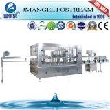 Água mineral do frasco giratório automático cheio do animal de estimação que enxágua a máquina de enchimento e tampando de lavagem