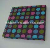 Cuaderno de papel hermoso de los niños con la cinta y princesa Bookmark