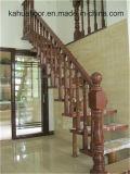 Escalera interior de madera natural de alta calidad