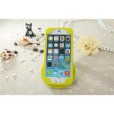 Forma 3D Silicon Bumper Silicon Cover/Caso para o iPhone 4/5/6g