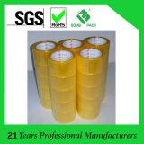 Adhesivo acrílico BOPP lacre del cartón de la cinta adhesiva de OPP cinta adhesiva transparente