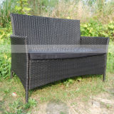 Outdoor (MTC-055)를 위한 안뜰 Wicker Rattan Furniture Kd Structure Chair