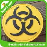 3D Rubber Trade Mark para Garment, Hats, Shoes, Bags (SLF-TM001)