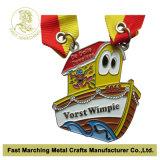 Sport caldi del premio del ricordo di vendita che eseguono la medaglia del metallo