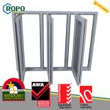 Indicador de vidro do Casement triplo Multipoint do PVC do painel da segurança 3 do fechamento