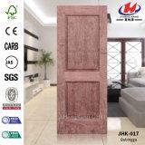 Твердая деревянная кожа двери дуба EV отлитая в форму HDF