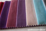 Tissu décoratif balayé de velours de pile de coupure de polyester pour le sofa