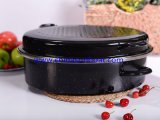 揚がるか、またはBaking/BBQのためのエナメルの調理器具の鋳鉄鍋