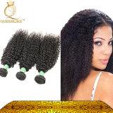 アメリカの黒いカラーインドの人間の弾力がある毛のねじれた巻き毛で非常に普及した