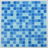 Mosaico Tiles Blue Glass Mosaic para Swimming Pool Building Material