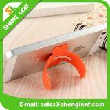 Productos de goma encantadores de moda del sostenedor del teléfono del OEM (SLF-SH001)