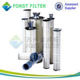 De Bovenkant van het Metaal van Forst plooide de Industriële Filters van Patronen