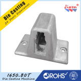 Los corchetes Polished de aluminio de la esquina del estante del cromo para los muebles a presión piezas de la fundición