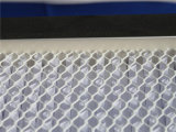 Filtro profundo del plisado HEPA del Um del papel 0.5 de la fibra de vidrio