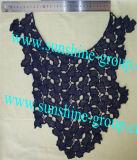 Collier de lacet de broderie de modèle de 2016 modes pour Dresses-009