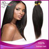 Человеческие волосы 100% людские Unprocessed прямые